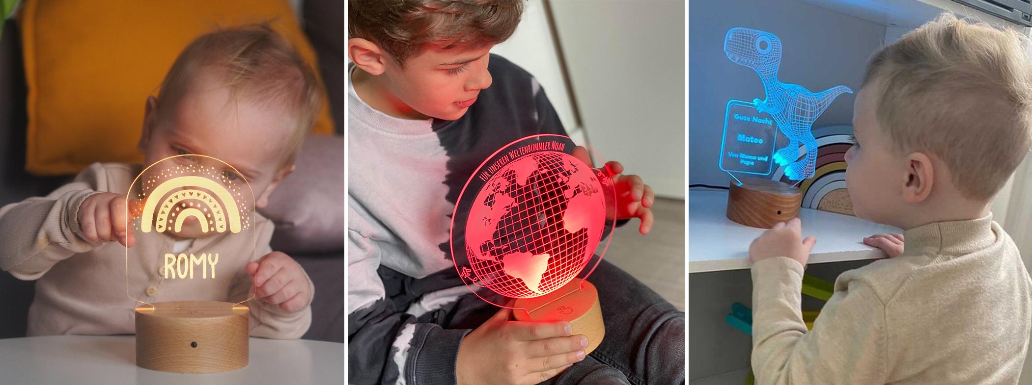 Banner 3D Lampen